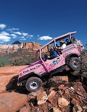 Pink Jeep Tours Sedona AZ
