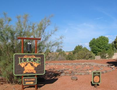 Lodge at Sedona-Mystical labyrinth