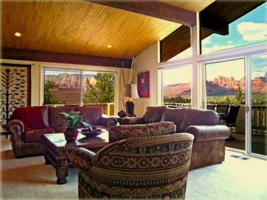 Sedona arizona vacation homes sedona vacation lovers share for Sedona luxury cabins